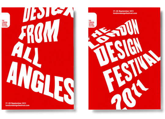 Lippa's work for the London Design Festival