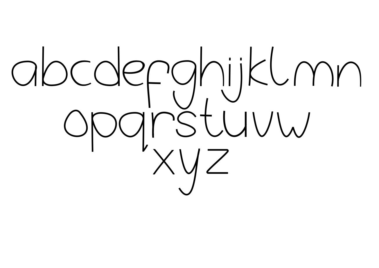 Typeface  -  Jola
