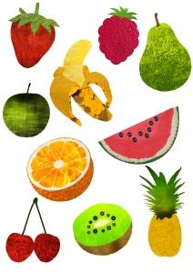 Fruit Textures