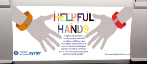 Helpful hands tube train